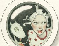 Denise van Leeuwen- Children's Book, Astronaut Maud