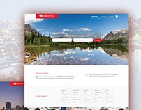 Job Search Website Design | Jobnation.ca