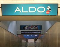 ALDO Subway Station Domination