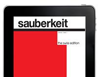 Sauberkeit App + Magazine