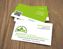 Agroweld A.Ş Business Card