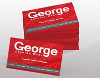 Grorge - Visit Card