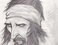 Album Artwork Drawings for fun- Kasabian