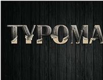 Poster - Typomania