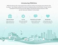 PINCHme Pre-live Website