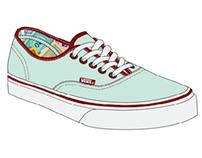 Vans -Monopoly- Footwear Design