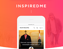 InspiredMe - Mobile First E-Commerce Marketplace