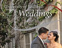 University of Redlands Wedding Brochure