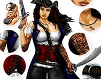 2D Art illustration