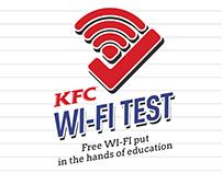 KFC Wi-fi test