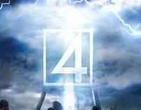 Fantastic Four Concept Movie Poster
