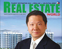 Real Estate World front cover
