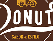 Logo e Id.visual Ateliê do Donuts