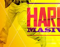 Gráfica Harlem Shake, Chile. #HarlemShakeStadium