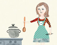 What's cooking? Animation!