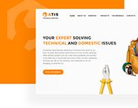 UI Design for Repair Service in UAE