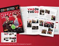 Magazine Cover and Spread Design Winter 2016