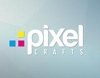 Pixel-Crafts Logotype practise