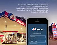 App de pedidos ALE Combustíveis
