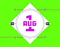 Typographic Calendar Challenge