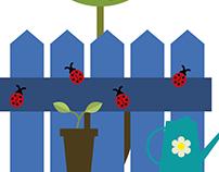 Gardening I Illustration