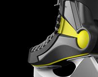Nike Bauer hockey skates Impact 100