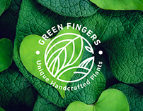 Green Fingers Branding design