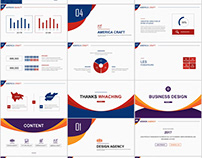 Best multicolor business design PowerPoint template