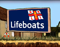 BBC animated promo for the RNLI