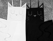 Cat Aprons
