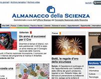 Almanacco della Scienza - Graphic design