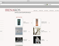 Irena Kos web art gallery