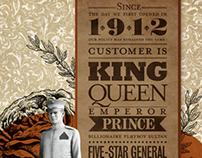Manila Hotel Centennial Print Ad