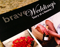 Brave Weddings Brand Identity Design + Print