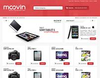 Moovin Computer store website