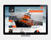 RNLI Homepage Concept
