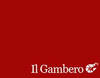 """Corporate Identity """"Il Gambero"""""""