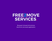 Free2Move Services - Mobile & Car App