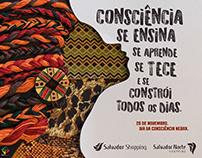 Anúncio Consciência Negra Salvador Shopping