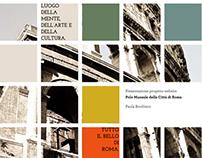 Progetto restyling sito Polo Museale Romano