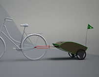 Bicycle Trailer for shopping