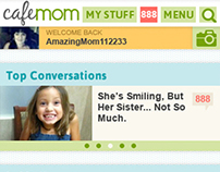 CafeMom Mobile Site