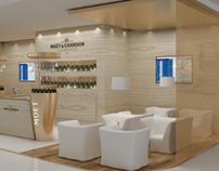 Moet Champagne Corner Bar Dubai Airport
