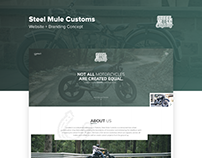 Steel Mule Branding + Web Concept