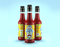 Package label - Package design & CGI for Caribio Syrup