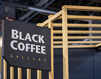 Black Coffee Stand