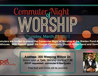 Commuter Night of Worship