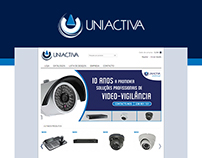 UNIACTIVA eCommerce Website Redesign