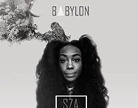 SZA Album Design