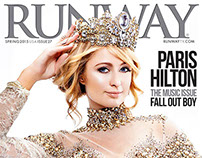 RUNWAY Cover with Paris Hilton